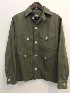 Post O'alls Overalls Cotton Cruzer Jacket Coat Made In USA Size Medium Cruiser