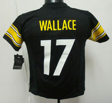 MIKE WALLACE YOUTH JERSEY PITTSBURGH STEELERS NFL FOOTBALL BOYS KIDS NIKE BLACK