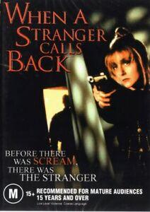 WHEN A STRANGER CALLS BACK - BETTER THAN SCREAM - NEW DVD FREE LOCAL POST