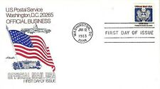 U.S. 1983 U.S. OFFICIAL MAIL 20c Coil Scott #O135 on an Artmaster FDC Cachet