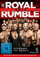 WWE Royal Rumble 2017 [DVD] *NEU* Deutscher Kommentar Deutsch Goldberg, Cena