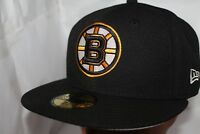 Boston Bruins New Era NHL Basic Solid 59fifty,Cap,Hat,Fitted        $ 37.99  NEW