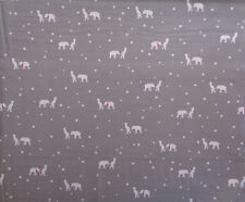 Half Metre Gutermann Ring a roses boy bear stars grey white quilting fabric