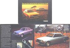 Mazda Montrose 626 1980-81 Original UK Sales Brochure Pub. No. MO/80/1