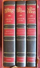 Jean Auel - EARTH'S CHILDREN trilogy - Slipcased leather