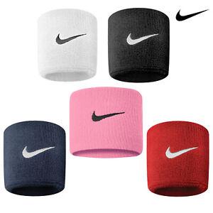 Nike Swoosh Wristbands One Pair (NK280) - Tennis Badmington Athletic Wristband