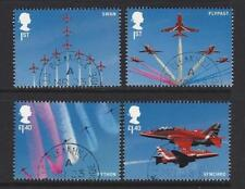GREAT BRITAIN 2018 ROYAL AIR FORCE RED ARROWS SET 4 EX. MINIATURE SHEET  F.USED