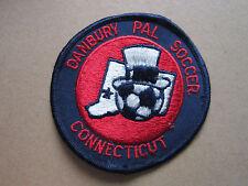 Danbury Pal Connecticut Soccer Woven Cloth Patch Badge (L1K)