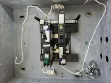 Siemens 8 space 16 circuit 125 amp rated load center outdoor electrical
