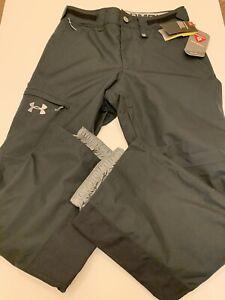 Under Armour Storm Primaloft Snowboarding Pants Black 1299610 Mens Size Small