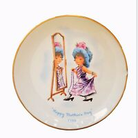 Mothers Day Vintage Plate Gorham Moppets  1975 Annual Collectors Third Limited
