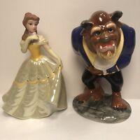 Disney Beauty & The Beast Belle With Beast Ceramic Porcelain Figurine Sri Lanka