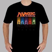 New Magic The Gathering MTG Popular Game Men's Black T-Shirt Size S to 3XL