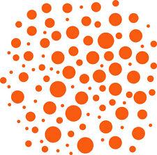 100 Punkte Retro Dekoration Wandtattoo auch für Außen geeignet große Farbauswahl