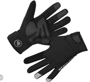 Endura Women's Strike Waterproof Gloves BLACK XS NEW