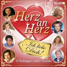 Herz an Herz - Ich liebe Dich! - 15 Schlager voller Gefühl     CD Neu OVP