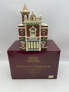 Dept 56 Heritage Collection Disney Parks Village DISNEYLAND FIRE DEPARTMENT #105