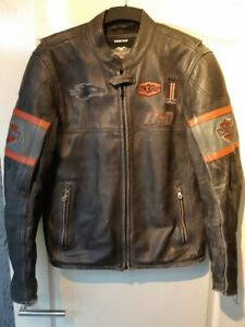 Harley Davidson Men's Incinerator Leather Jacket Screamin Eagle M 98038-12VM HD