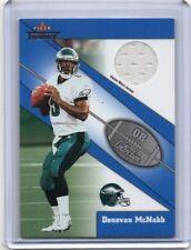 DONOVAN MCNABB Eagles 2002 Fleer Throwback QB Collection Game-Worn Jersey Card