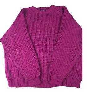 Headliners Women's Jumper, Vintage Jumper For Women's, Purple Colour, Size XL .