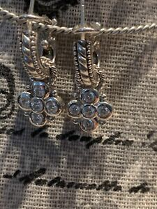 Judith Ripka Sterling SilverDiamonque  Earring & Charms