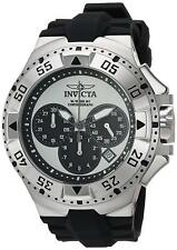 Invicta 23038 Excursion Men's 50mm Chronograph Stainless Steel Silver Dial