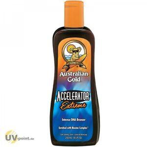AUSTRALIAN GOLD ACCELERATOR EXTREME 250 ml Solarium Kosmetik Sonnen Lotion