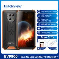 "6.3"" FHD Blackview BV9800 6GB+128GB 48MP Smartphone IP68 Mobile Phone Unlocked"