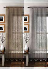 Polyester Animal Print Sheer Window Curtains