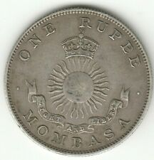 More details for mombasa british east africa 1888 silver rupee coin auction starts at £1