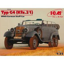 TYP G4 (KFZ.21), WWII GERMAN STAFF CAR 1/35 ICM 35538