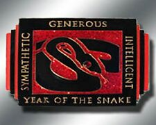 Chinese ZODIAC - YEAR OF THE SNAKE Spinner Poker Card Guard