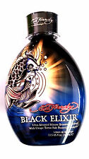 Ed Hardy Black Elixir Indoor Tanning Bed Lotion Bronzer w/ Tattoo Protection