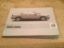 Volvo S60 Saloon Owners Manual Handbook