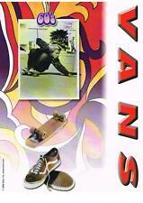 PUBLICITE ADVERTISING  2001    VAN'S   60'S   CHAUSSURES DE SPORT
