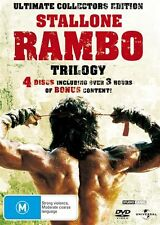 Rambo Trilogy (DVD, 2008, 3-Disc Set)