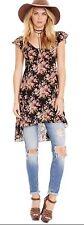 Denim & Supply Ralph Lauren Size 10   M L Hi Low Floral Dress Boho