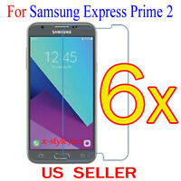 6x Clear Screen Protector Guard Cover Film For Samsung Galaxy Express Prime 2