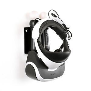 Playstation VR PSVR Headset Move Motion Controller Wall Holder Consoles Stand
