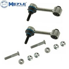 For Audi A3 TT VW Passat Pair Set of 2 Rear Suspension Stabilizer Bar Link Meyle