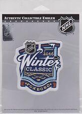 2016 Winter Classic Patch Gillette Stadium Patriots Boston Bruins Canadiens