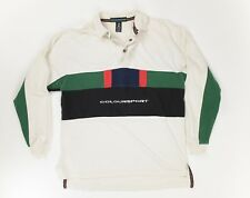 Alexander Julian Colour Sport Vintage 80's 90's Polo Block Rugby Shirt Medium M