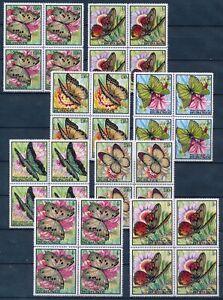 [PG20262] Burundi 1968 : Butterflies - 4x Good Set Very Fine MNH Stamps - $280