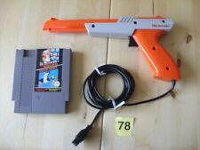 NES Zapper Light Gun Nintendo Entertainment System Controller & Mario, Duck Hunt