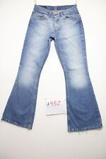 Levis 544 flare bootcut (Cod.J552) Tg.42 W28 L32 jeans usato boyfriens donna