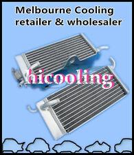 Honda CR125 CR125R 1985 1986 85 86 2-stroke aluminum radiator left & right