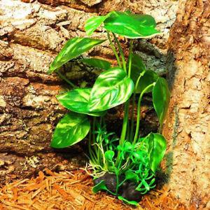 Aquarium Terrarium Artificial Plants for Reptile Tank Landscaping Decoration
