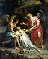 Ecstasy Of Mary Magdalene Rubens Fiine Art Print Canvas Renaissance Home Decor S