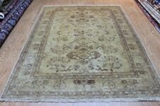 Persian Rug 6' x 8' with Soft Color muted Beige Color Cream Background Rug #PM75