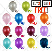 Latex Metallic Pearl Quality Party Birthday Wedding 10 Inch BALLOONS